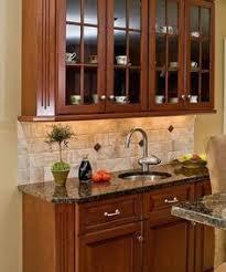 Backsplash For Granite by Backsplash Ideas With Santa Cecilia Granite Google Search Home