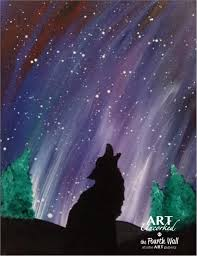 how to paint northern lights art uncorked at the fourth wall cottonwood paint night northern lights