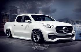 mercedes customized or not mercedes x class is rendered much lower