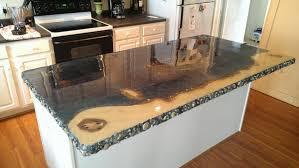 Teak Laminate Flooring Contemporary Style Theme With Concrete Kitchen Countertops Sleek