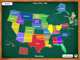 Usa States Map Quiz by 50 States Map Game My Blog
