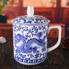 ceramic engraving style bone china porcelain engraving tea cup 450ml
