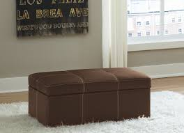 Extra Large Ottoman Slipcover by Amazon Com Dhp Delaney Large Rectangular Ottoman Brown Kitchen
