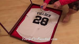 signed motocross jersey how to frame a baseball jersey for a lot less money youtube