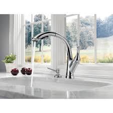 Kitchen Faucets Sacramento Delta Faucet 4153 Dst Linden Polished Chrome Pullout Spray Kitchen