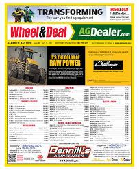 wheel u0026amp deal alberta april 15 2013 by farm business