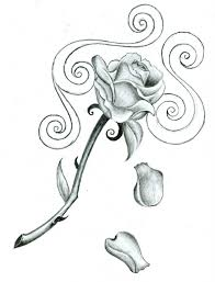 small rose drawing rose tattoos designs ideas and meaning tattoos