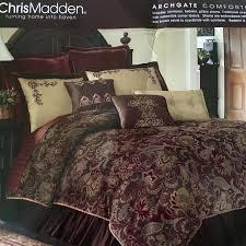 Chris Madden Bedroom Furniture by Find More Reduced Chris Madden Archgate King Comforter Set For