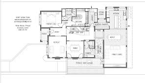 concept a ground floor plan alteration and addition to a modest