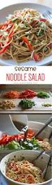 sesame noodle salad lauren u0027s latest