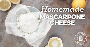 cuisine mascarpone mascarpone cheese recipe cultures for health