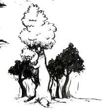 brush pen sketches scott daros animation u0026 illustration
