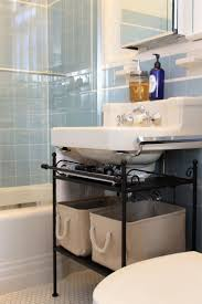 Small Bathroom Trash Can Best 25 Small Pedestal Sink Ideas On Pinterest Pedestal Sink