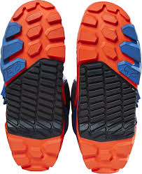 fox boots motocross fox instinct offroad enduro motocross boots navy blue orange