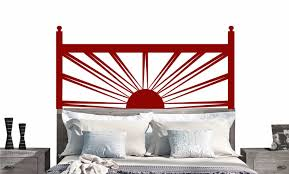sunrise headboard decal vinyl sticker 25 colors all sizes