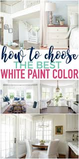 how to choose the best white paint color the turquoise home