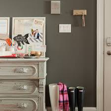 Entryway Painting Ideas Charcoal Gray Walls Design Ideas