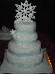 wedding cakes fresh winter wonderland wedding cakes for the big