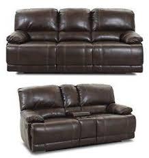 leather reclining sofa ebay