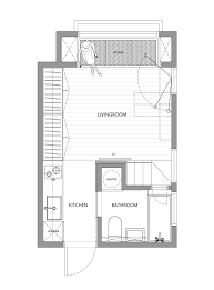 Is Floor Plan One Word by Little Design Creates 22m2 Apartment In Taiwan