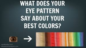 eye pattern clothes eye anatomy color analysis best colors for your hair makeup