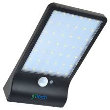 led solar security light ifitech 42 led outdoor waterproof wall security light