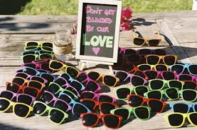 wedding sunglasses outdoor wedding ideas for a day