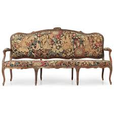 canape louis xv louis xv period canape or settee c 1750 silla antiques