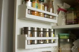 etageres de cuisine fabriquer ses étagères à épices recette de cuisine mademoiselle