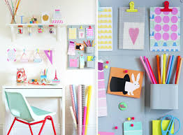 Diy Study Desk Bright Colourful Desk Diy Helpful Home Office Study Image