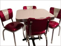 Retro Kitchen Table And Chairs Best Tables - Kitchen table retro