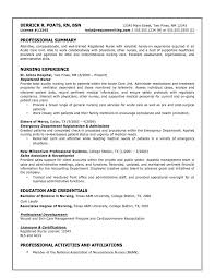 Examples Of Nursing Resumes by Nursing Resume Examples Best Resume Collection