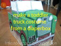 Easy Toddler Halloween Costume Ideas Halloween Costume Tutorial Series 1 Diy Toddler Truck Costume