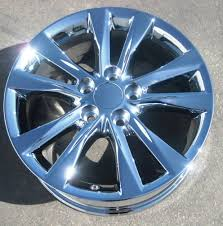 lexus es 330 chrome wheels set of 4 new 17