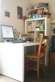 Computer Desk Organization Ideas Homeschool Desk Ikea Our And Chalkboard Room Hodgepodge Baskets