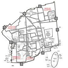 Map Of Jerusalem Walls Of Jerusalem Jerusalem 101