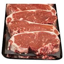 certified angus beef boneless loin top loin steak meijer com