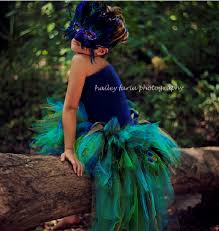 Womens Peacock Halloween Costume Stunning Collection Hand Bustle Tutus Infants