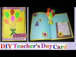 search result youtube video teachers day card ideas for kids