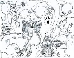 scary monster coloring sheets quality coloring pages