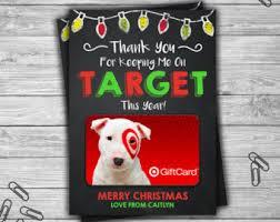 christmas gift card etsy
