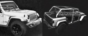2018 Jeep Wrangler Jl Timeline Leaked Production Could Start In