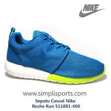 Nike Asli sepatu sneakers casual nike roshe run original 511881 400 www