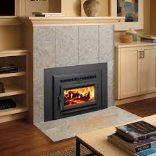 fireplace xtrordinair small flush wood hybrid fire insert