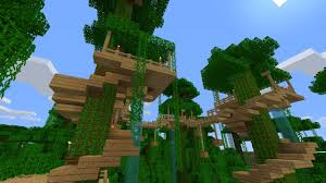 Cool Tree Houses In Minecraft Inspiration Ideas 2725 Design Ideas