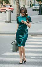 zara short sleeve stretch bodycon casual dresses ebay