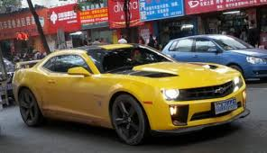 2012 transformers camaro spotted in china chevrolet camaro transformers edtion