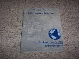2001 ford explorer sport trac electrical wiring diagram manual 4 0