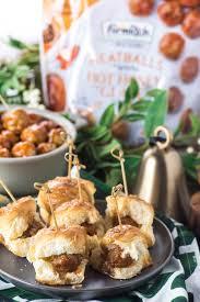 easy meatball appetizers for the holidays go go go gourmet