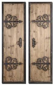 wall designs metal and wood wall abelard panels uttermost